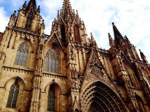 La Cattedrale di Barcellona nel Barrio Gótico