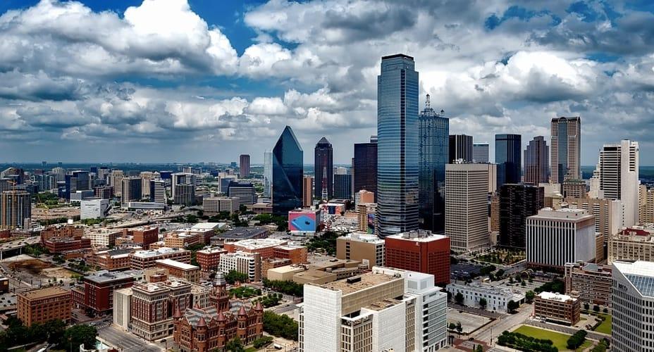 I grattacieli di Dallas