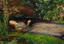 Elizabeth Siddal, una delle donne più belle dell'Ottocento, ritratta in Ophelia di John Everett Millais