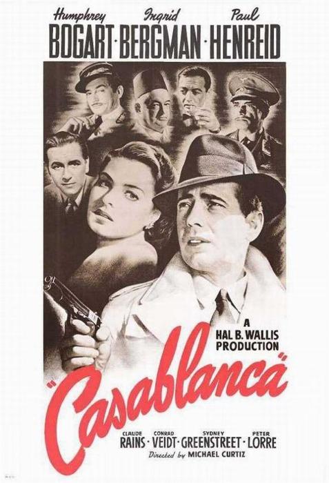 Casablanca, ovvero la dura scelta tra l'amore e la patria