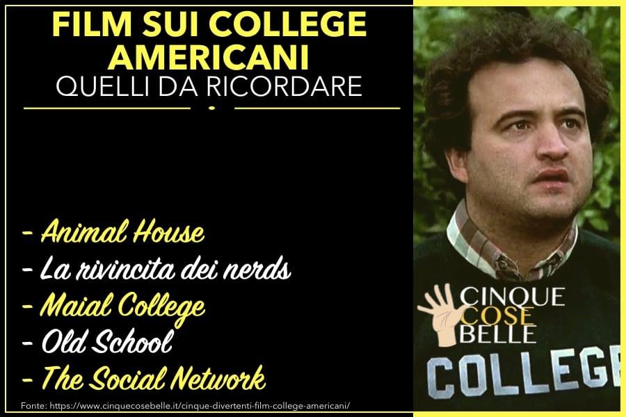 I film sui college americani