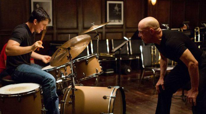 Una scena di Whiplash, uno dei film drammatici più sconvolgenti degli ultimi anni