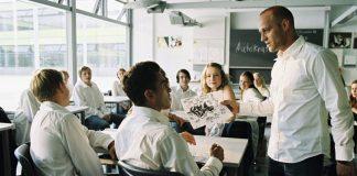 Una scena de L'onda, film duro ma dagli importanti valori educativi