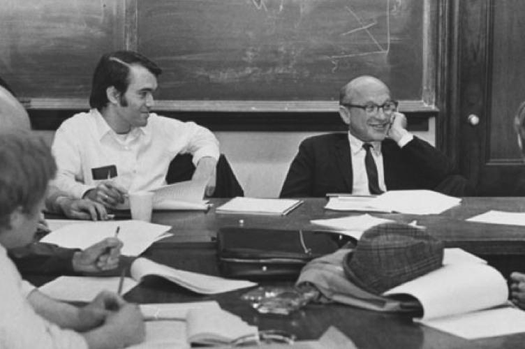Friedman a Chicago nel 1971