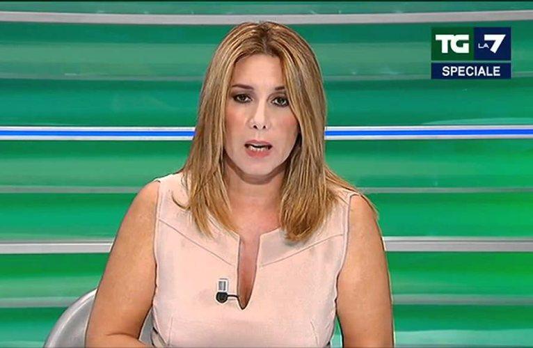 Gaia Tortora, giornalista vicedirettrice del TG La7