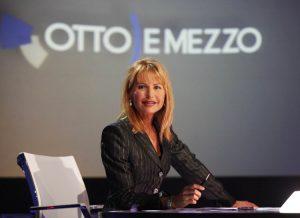 Lilli Gruber, la più famosa tra le giornaliste di La7