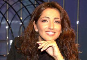 Tiziana Panella, conduttrice del talk Tagadà