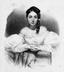 Juliette Drouet, autrice di lettere d'amore di grande trasporto per Victor Hugo