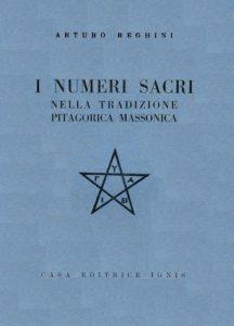 Un volume che indaga il rapporto tra i numeri per i massoni e per i pitagorici