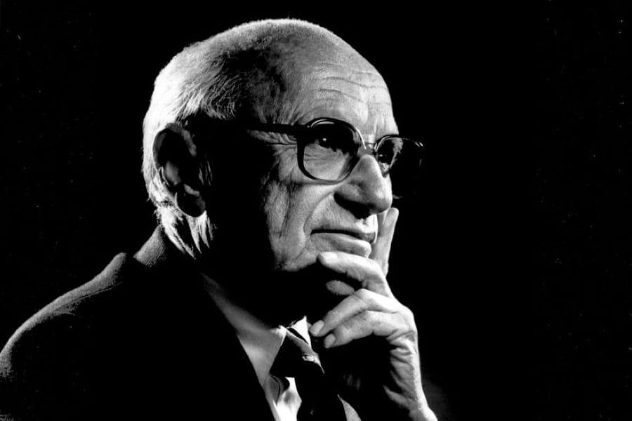 Milton Friedman, economista controverso ma molto influente