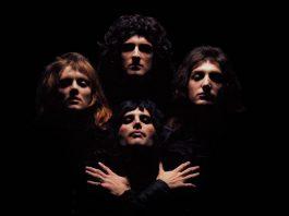 I Queen durante le riprese del video di Bohemian Rhapsody, una delle loro canzoni più belle