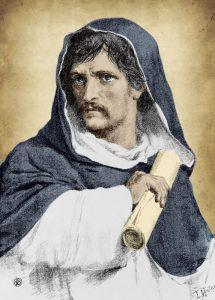 Il filosofo Giordano Bruno
