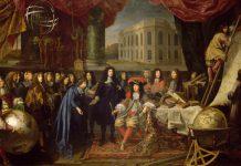 Colbert presenta a Luigi XIV i membri della Reale Accademia delle Scienze nel 1667, uno dei quadri-simbolo della Rivoluzione scientifica firmato da Henri Testelin