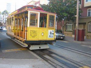Uno dei tipici tram della città californiana
