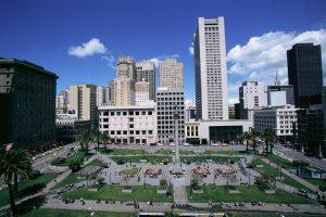 Union Square, la piazza dei negozi e dei teatri di San Francisco