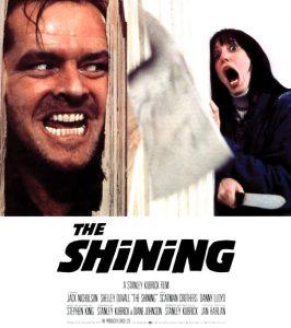 "La locandina di ""Shining"" di Stanley Kubrick"