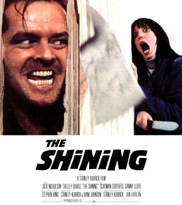 La locandina di Shining di Stanley Kubrick