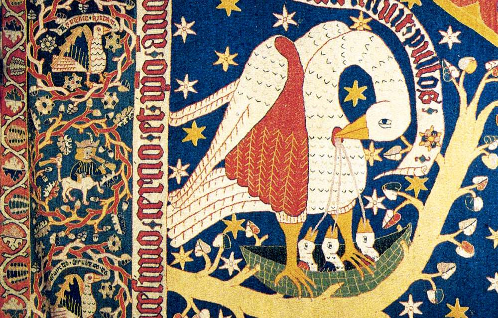 Il pellicano della leggenda medievale
