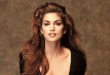 Cindy Crawford, forse la più famosa tra le top model anni '80