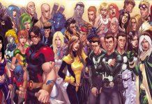 Alcuni dei personaggi che sono stati membri a vario titolo degli X-Men