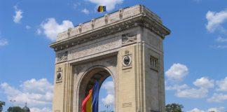 L'Arco di Trionfo a Bucarest, la principali tra le città della Romania