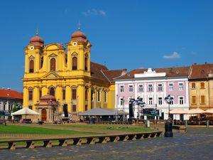 La colorata Timișoara