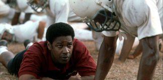 Denzel Washington in Il sapore della vittoria, uno dei più bei film sul football americano