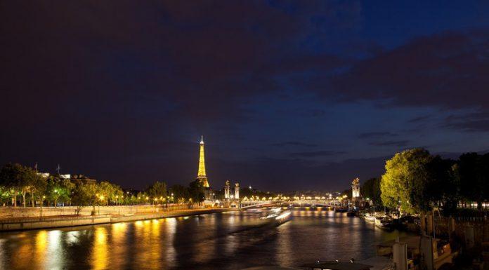 La Senna a Parigi, forse il più famoso dei fiumi francesi