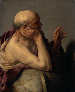 Eraclito, in un quadro di Hendrick ter Brugghen