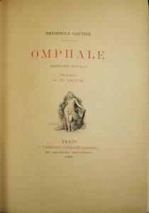 Onfale, il cui protagonista è uno scrittore di racconti fantastici