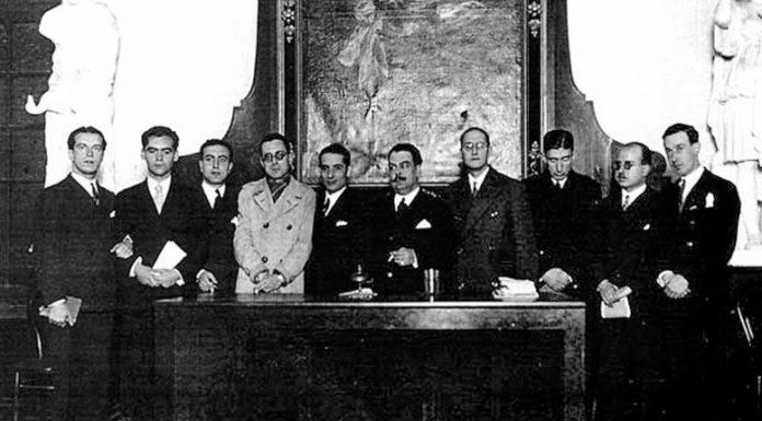 Alcuni dei più famosi esponenti della Generazione del '27