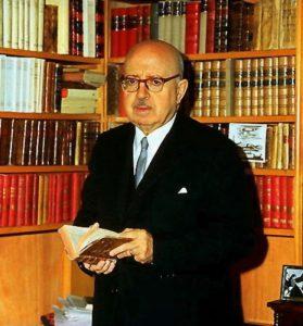 Dámaso Alonso, autore di saggi e poesie