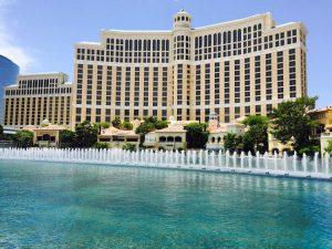 Le fontane davanti al Bellagio, una delle cose più famose da vedere a Las Vegas