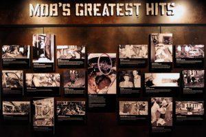 Uno dei pannelli del Museo della Malavita, una delle cose da vedere più inaspettate di Las Vegas