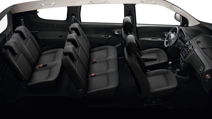 Gli interni della Dacia Lodgy