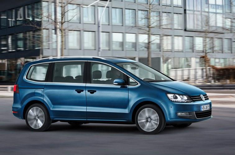La Volkswagen Sharan