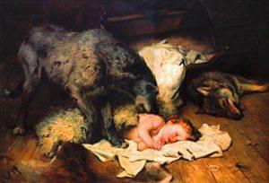 L'impresa di Gelert, il coraggioso cane scozzese