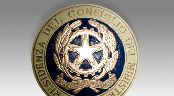 Lo stemma della Presidenza del Consiglio dei Ministri, ovvero dei Primi Ministri italiani