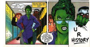 She-Hulk licenzia il proprio autore