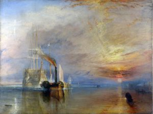"""La valorosa Téméraire"" di William Turner"
