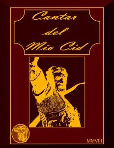 Una copertina del Poema del mio Cid