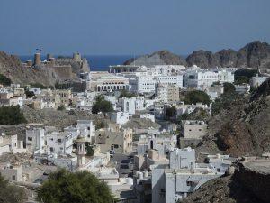 La città di Muscat, in Oman