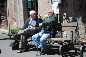 In Italia il numero di anziani è tra i più alti del mondo