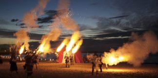 Mori contro cristiani a Campello, in una delle tipiche feste spagnole (foto di Bereber via Wikimedia Commons)