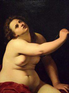 La Cleopatra realizzata da Artemisia Gentileschi nel 1620