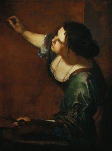 Autoritratto come allegoria della pittura di Artemisia Gentileschi