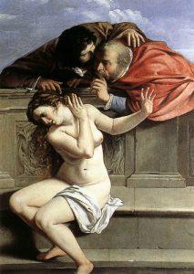 Susanna e i vecchioni, quadro del 1610 di Artemisia Gentileschi
