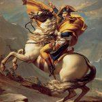 Il Primo Console supera le Alpi al Gran San Bernardo di Jacques-Louis David