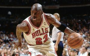 Michael Jordan, uno che sapeva interpretare vari ruoli su un campo da basket (foto di Jason H. Smith via Flickr)