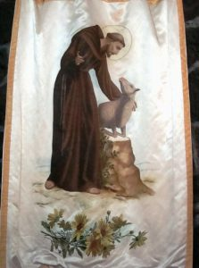 San Francesco si rivolge a un agnello (foto di Enrique Lopez Tamayo Biosca via Flickr)